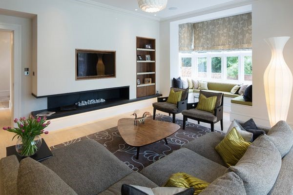 Difference Family Room Living